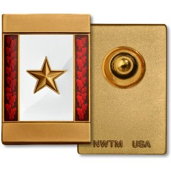 Gold Star Commemorative Insignia - Fully Engravable