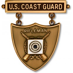 Coast Guard Excellence-in-Competition Rifle Shot Badge