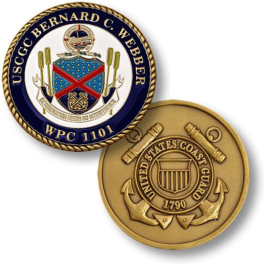 Coast Guard Cutter Bernard C  Webber
