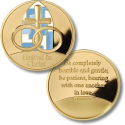 United in Christ - Rings - MerlinGold® with Enamel