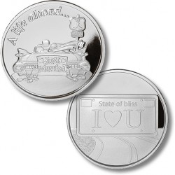 A Life Ahead - Wedding Medallion - Proof-like Nickel