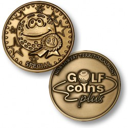 Golf Coins Plus Special - Bronze or Nickel Antique