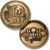 Golf Coins Plus Lost Ball - Bronze or Nickel Antique