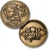 Golf Coins Plus Triple Bogey - Bronze or Nickel Antique