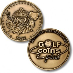 Golf Coins Plus Tree - Bronze or Nickel Antique
