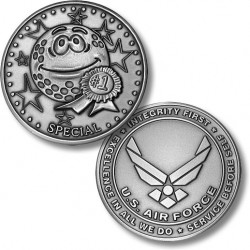 Golf Coins Plus Special - Air Force - Nickel Antique