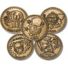 Golf Coins Plus Expansion Golf Coin Set - Army - Bronze Antique