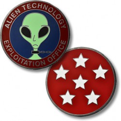 USAF Alien Technology Exploitation Office Challenge Coin