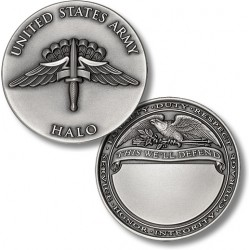 HALO - US Army Engravable