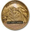 Summiteer Hiking Stick Medallion - Mount Mitchell, North Carolina
