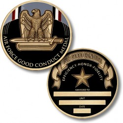Air Force Good Conduct Medal - Engravable