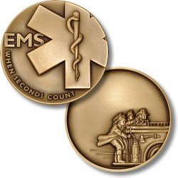 EMS When Seconds Count - Fire Engravable