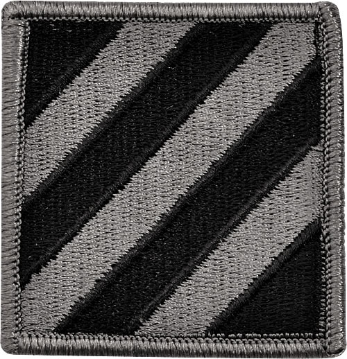 US Army 3rd Infantry Division Patch Color - Sparks Military