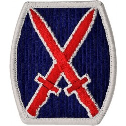 U.S. Army Patch - 10th Mountain (Infantry) Division - Color (pair)