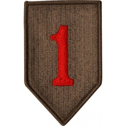 U.S. Army Patch - 1st Infantry Division - Color (pair)