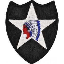 U.S. Army Patch - 2nd Infantry Division - Color (pair)