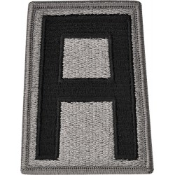 U.S. Army Patch - First  Army - ACU (pair)