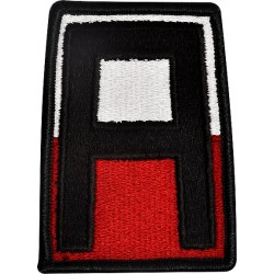 U.S. Army Patch - First  Army - Color (pair)