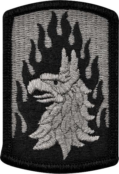 U S Army Patch 12th Aviation Brigade Acu Pair