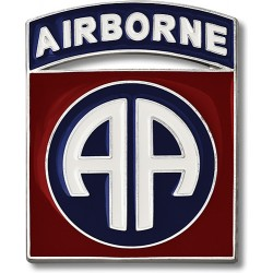 82nd Airborne Combat Service Identification Badge