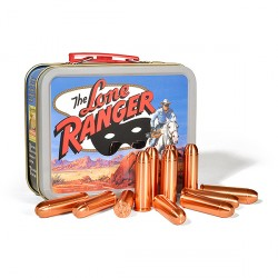 Masked Man Collector's Set – Twelve 1.5 oz .45 LC Signature Copper Bullets™ and Collectible Lone Ranger Lunchbox