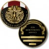 Meritorious Service Medal Coin - Engravable
