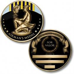 Airman's Medal - Engravable
