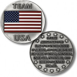 Team USA - Pledge of Allegiance Coin