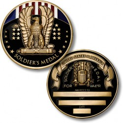 Soldier's Medal Coin - Engravable