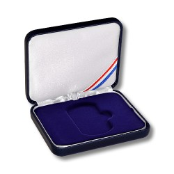 "1 7/8"" Leatherette Dog Tag Presentation Box"
