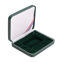 Bar Leatherette Presentation Box - Green