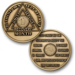 1 Month - AA Antique Bronze -1½""