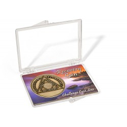 Snap Lock case for 1 1/2 inch AA Bronze Coins