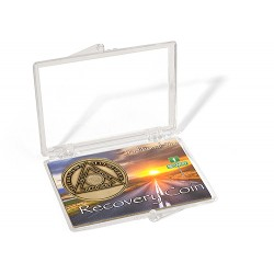 Snap Lock case for 1 3/8 inch AA Bronze Coins