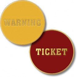 Warning / Ticket Coin