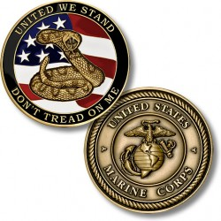USMC Don't Tread on Me Coin