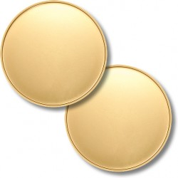Blank Engravable 47mm Bronze Coin