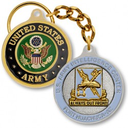 Ft. Huachuca Army Intelligence Center Key Chain