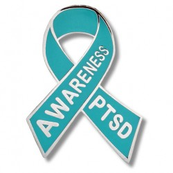 PTSD Awareness Lapel Pin