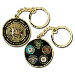 US European Command Keychain