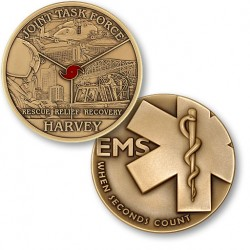 Harvey Relief Effort - EMS - Bronze Antique