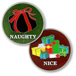Naughty or Nice Flip Coin