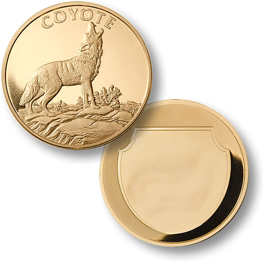 Coyote Merlingold 174 Coin