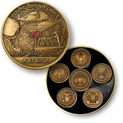 Joint Task Force Katrina - Bronze Antique